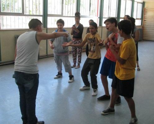 Saltando Charcos taller de teatro