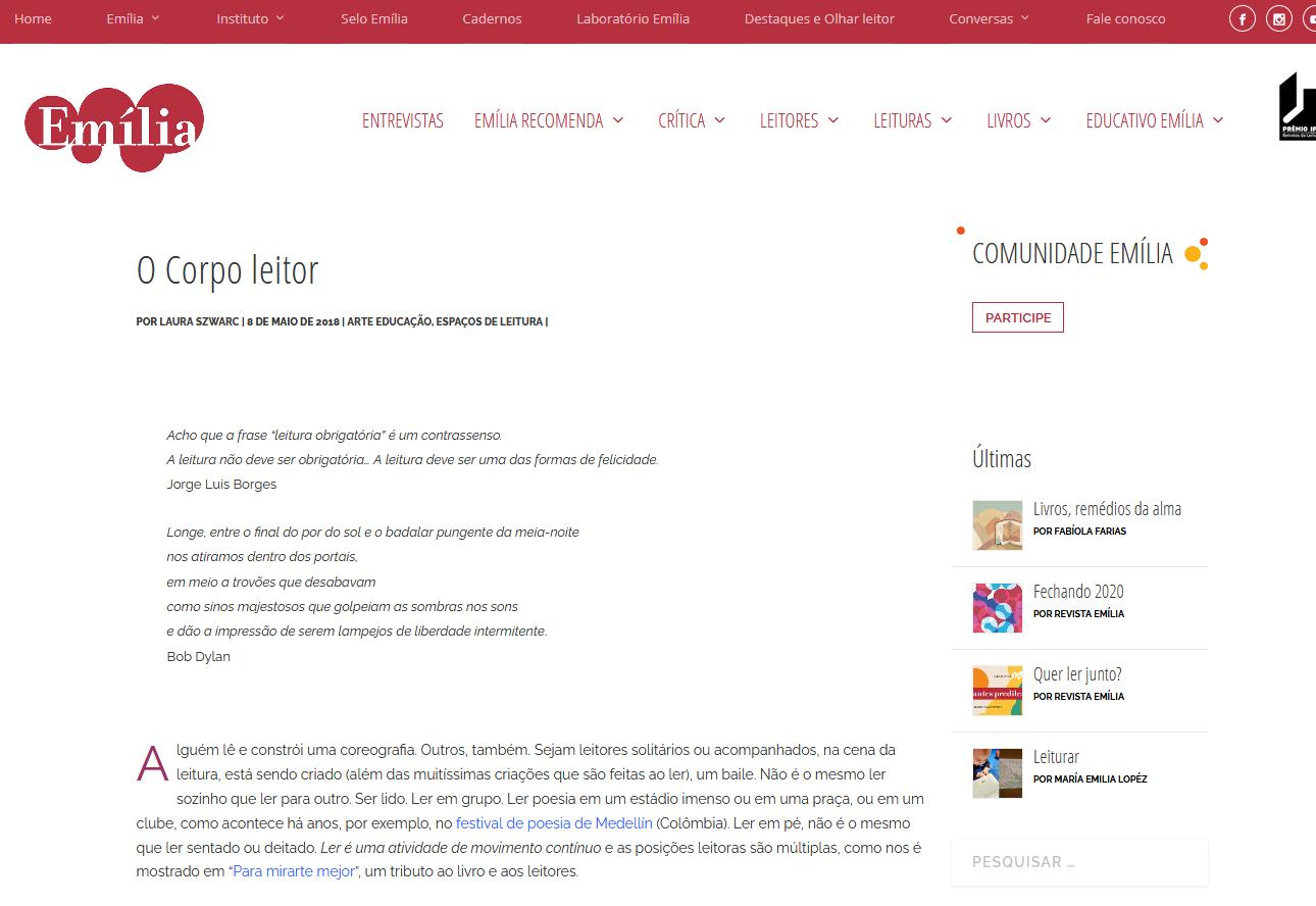 Screenshot_2021-01-05 O Corpo leitor Revista Emília